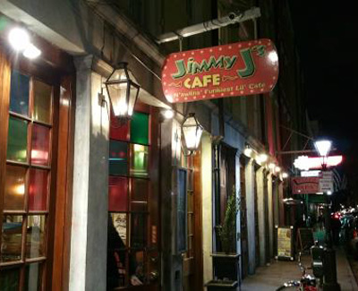 Jimmy J's Cafe restaurant front